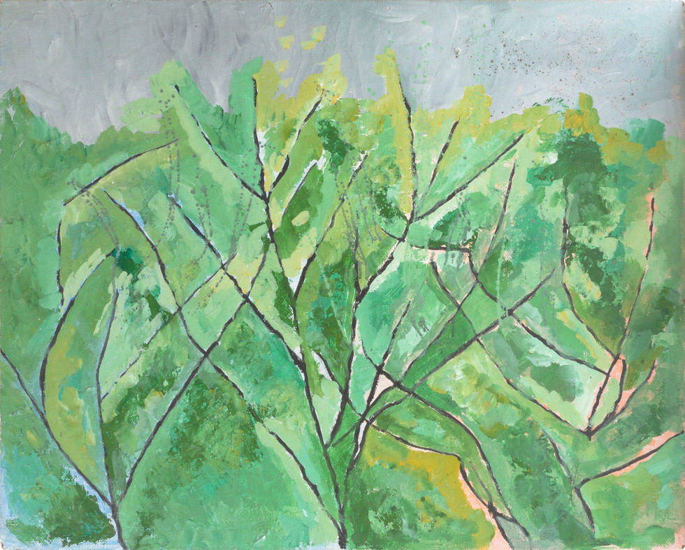 Untitled - green foliage