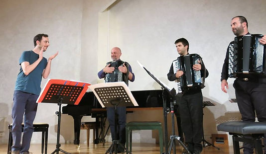 Omri Abram Composer, krassimir Strev, Ghenadie Rotari, Mirko Jetkovich, Terrain, Accordeons