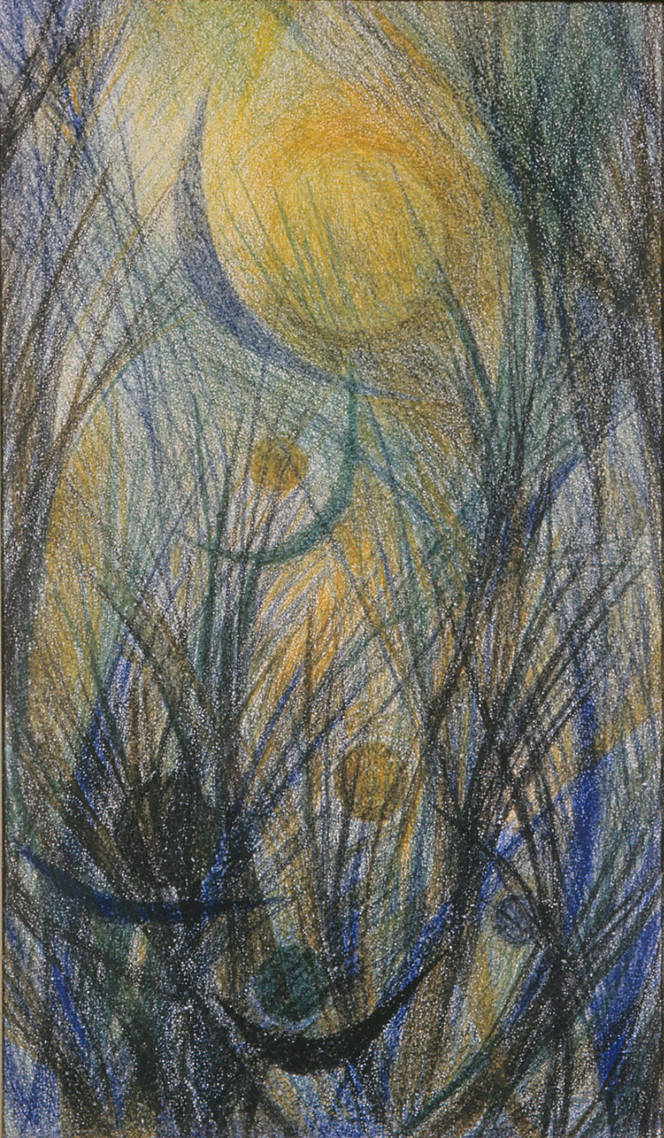 Moonlit Reeds
