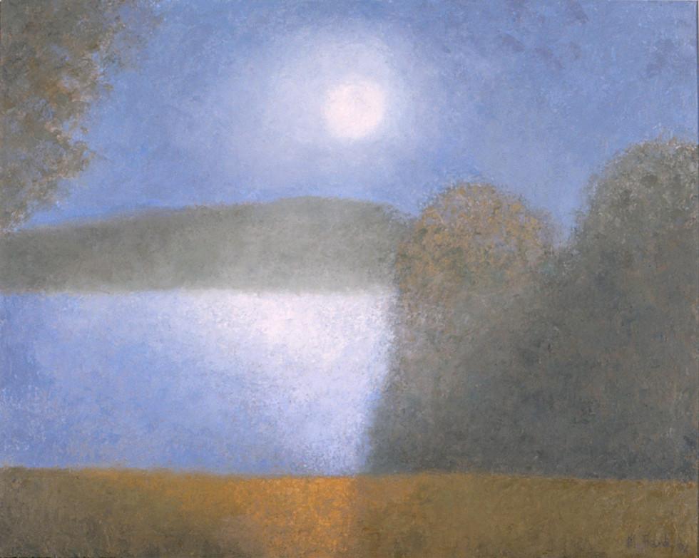 Landscape (Night on the Lake)