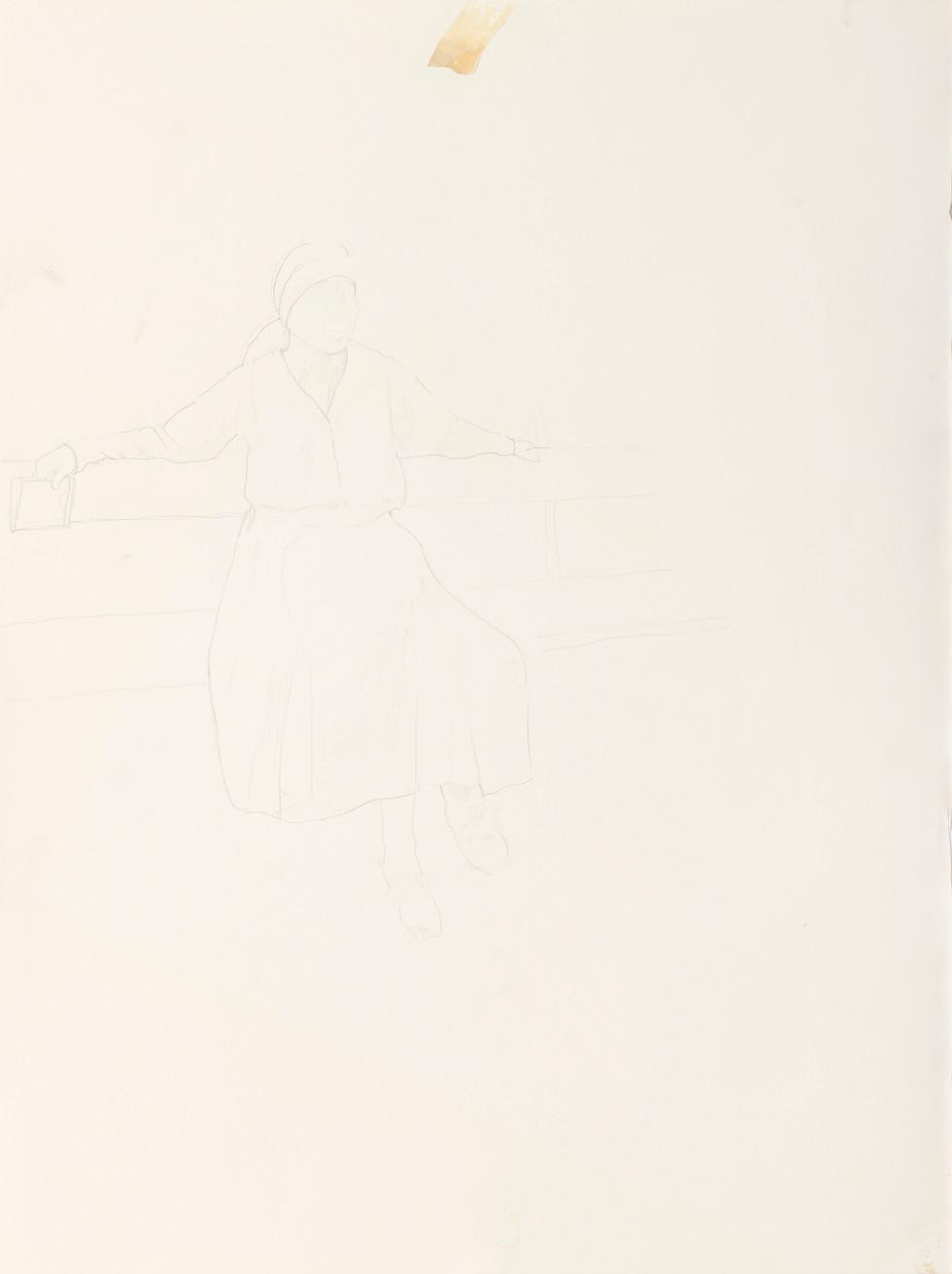 Sketch for Rózsa Vilma (1)