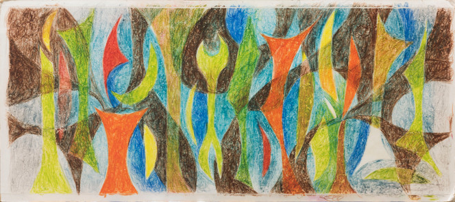 Untitled - abstract colorful shapes