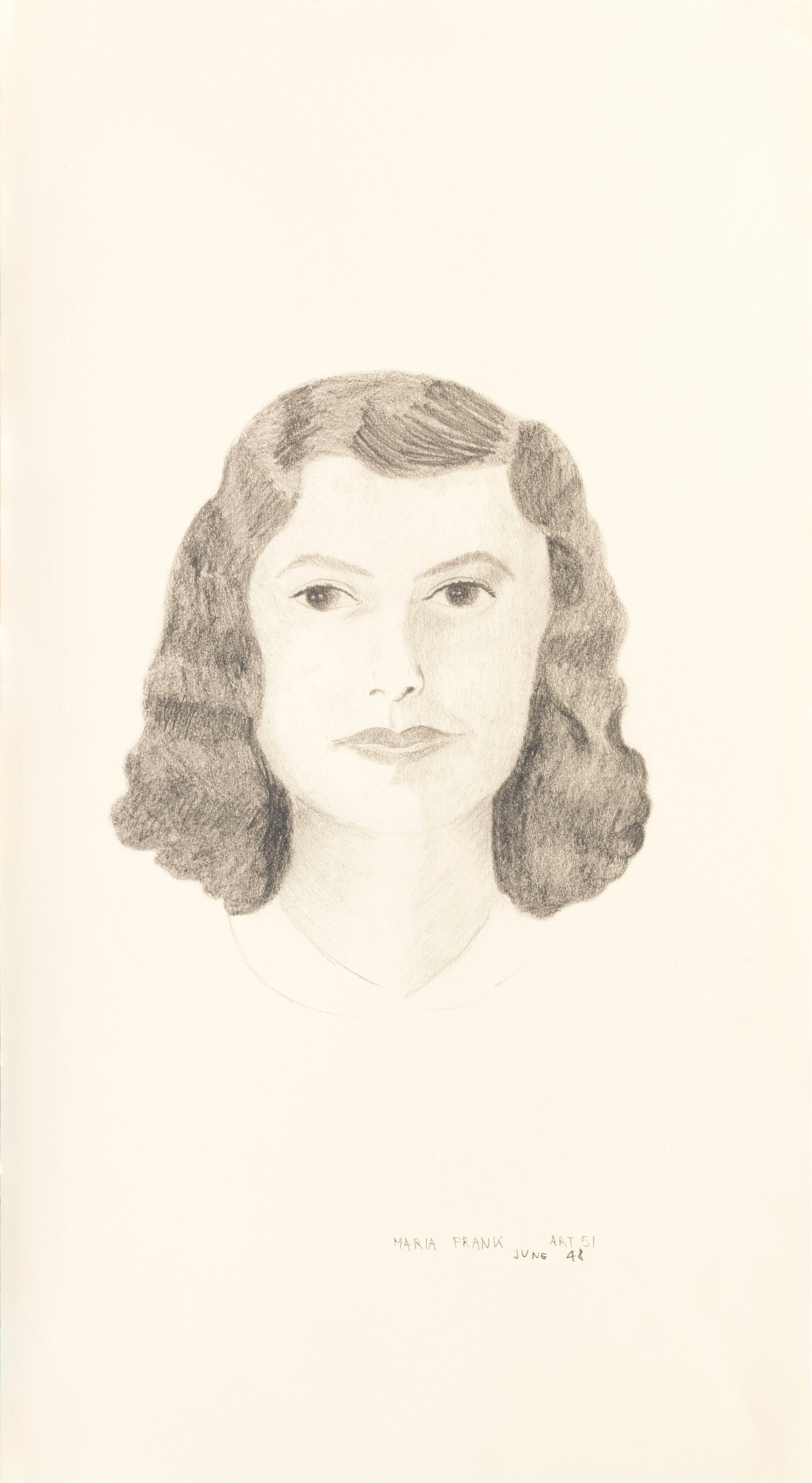 Untitled - portrait of a woman (Vera) (2)