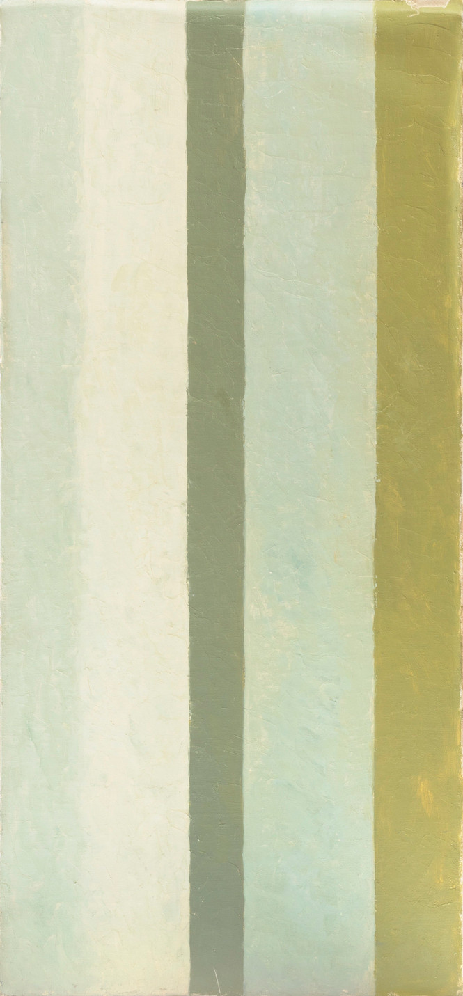 Untitled - green stripes