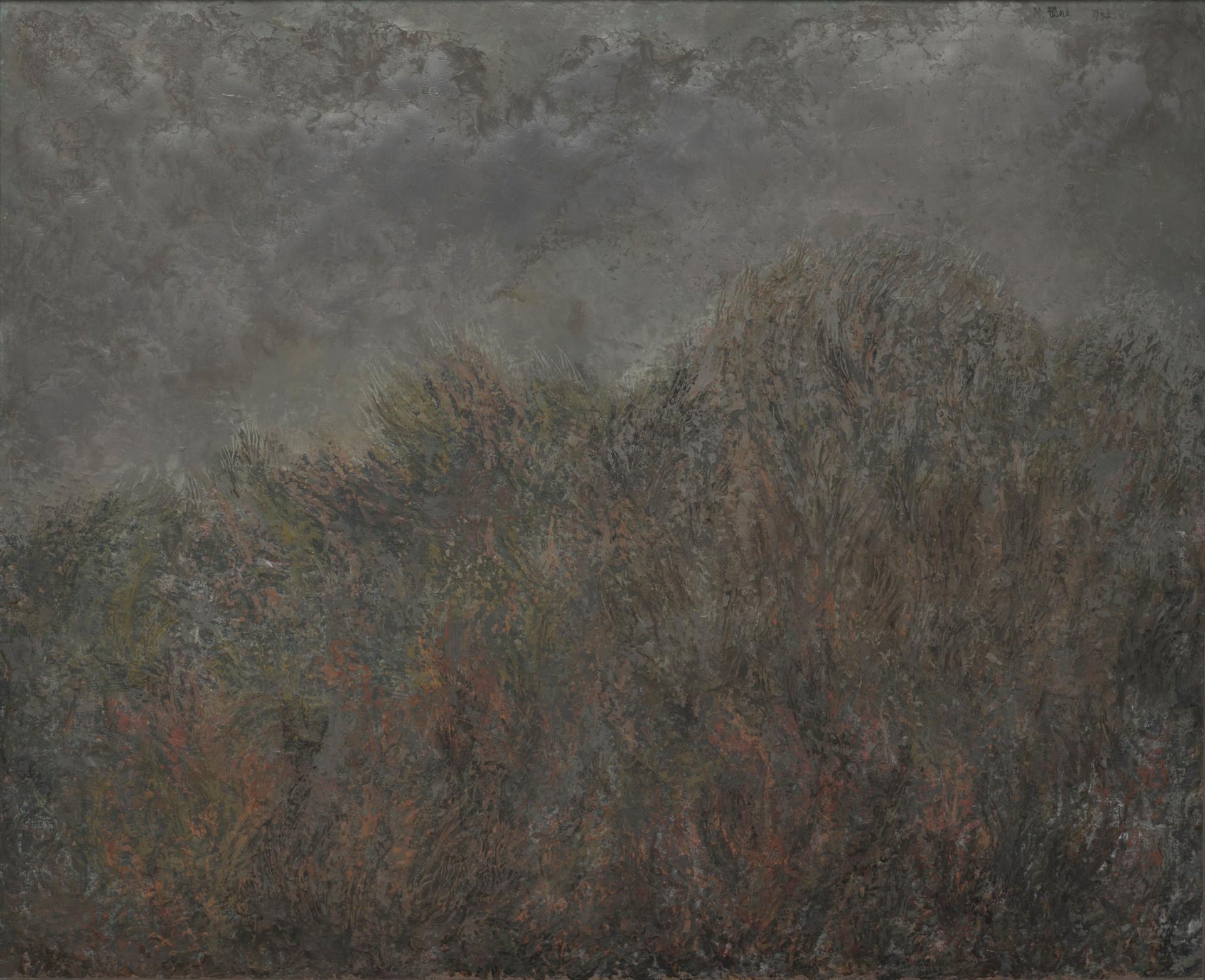 Untitled - dark gray landscape