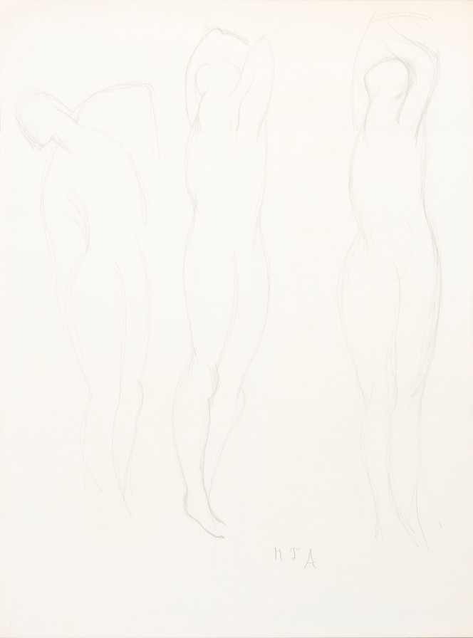 Three Standing Nudes