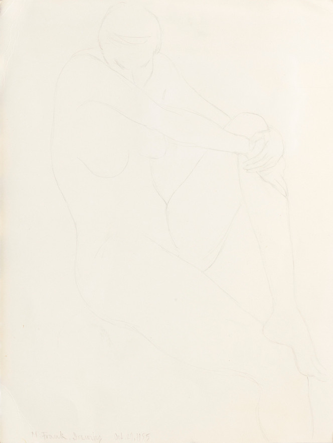 Drawing - nude