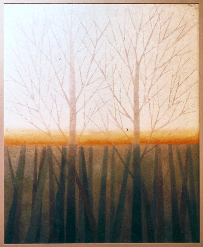 March Trees