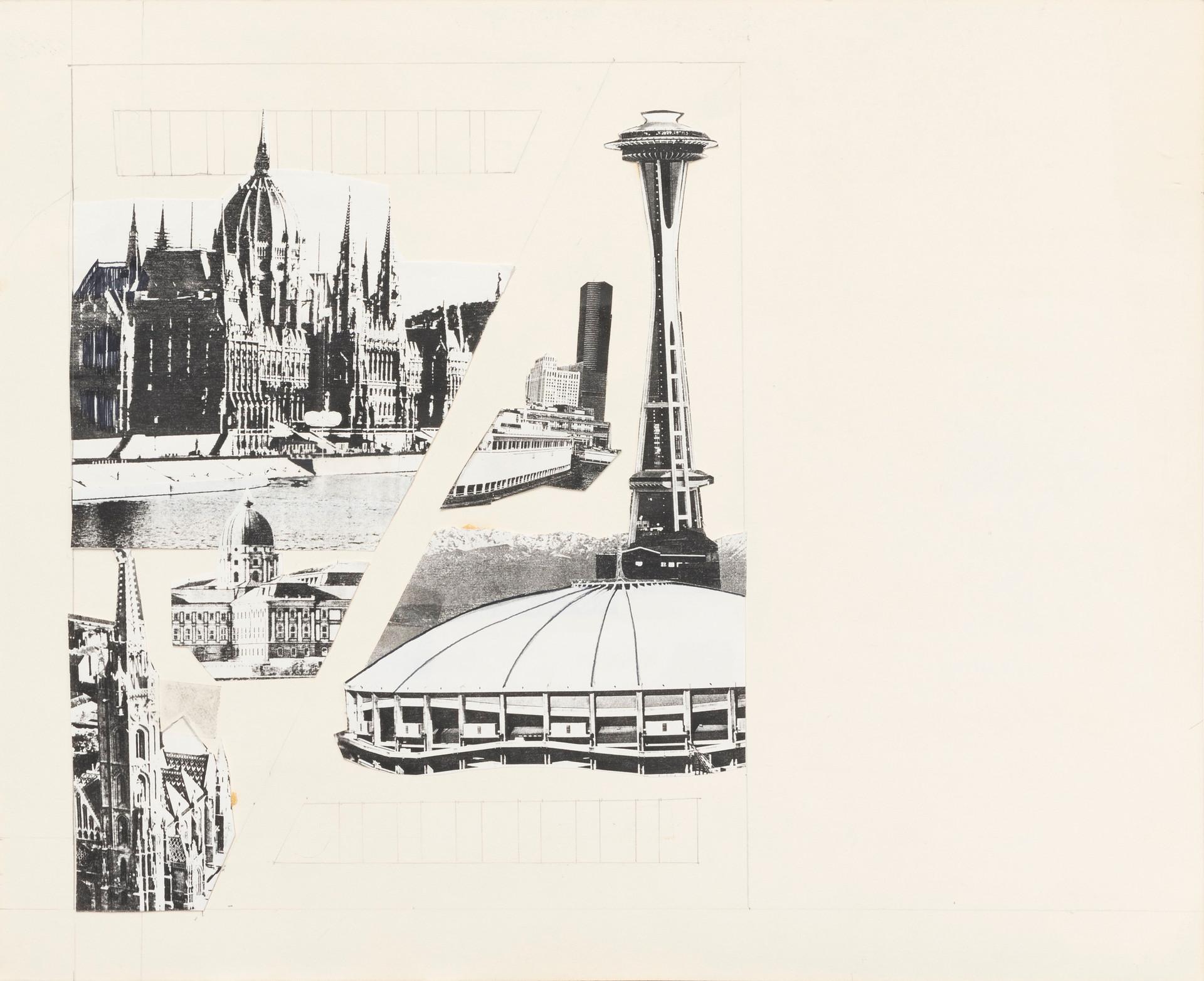 Design for Budapest-Seattle Art Exchange poster