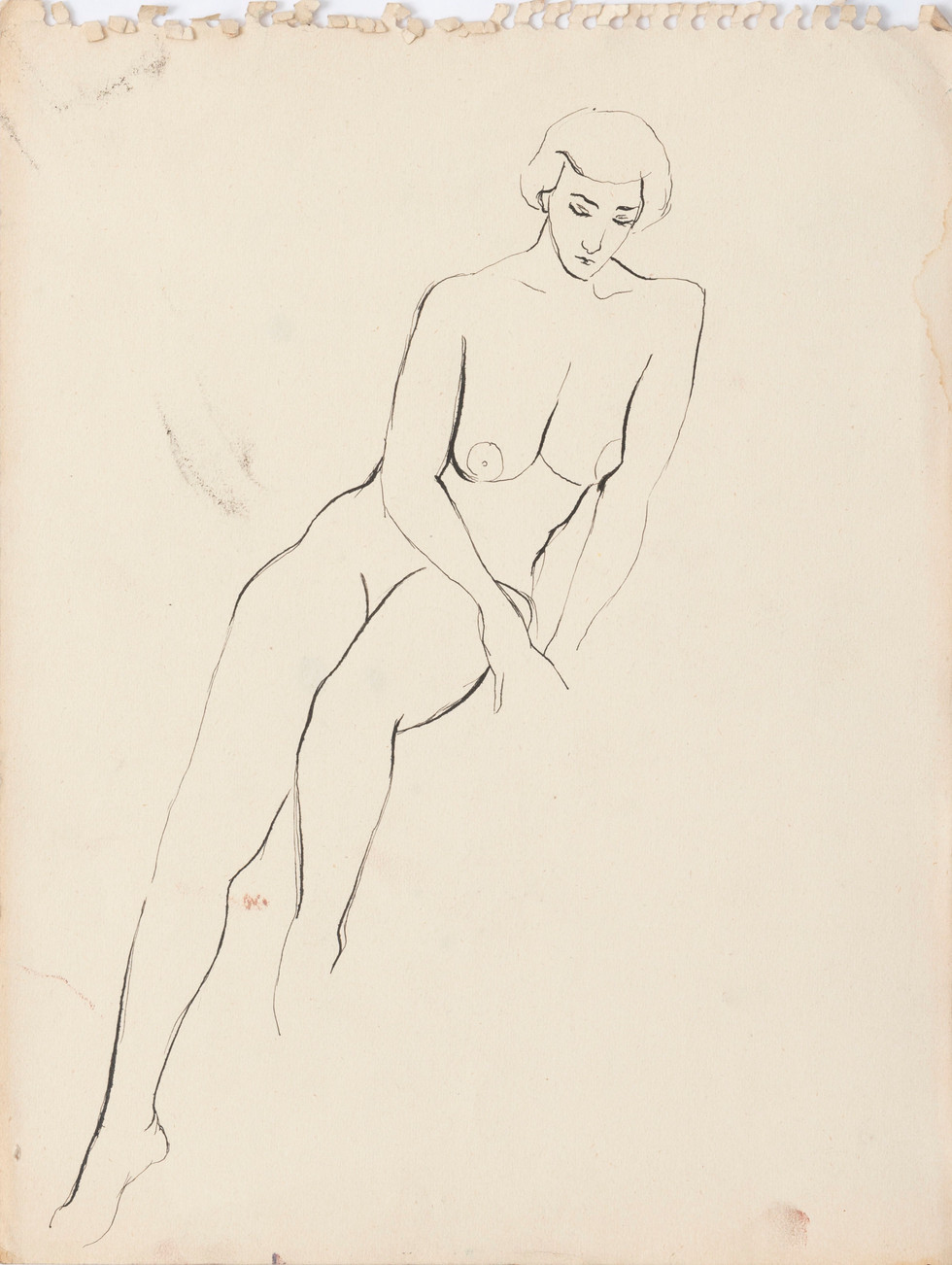Untitled sketch - nude woman