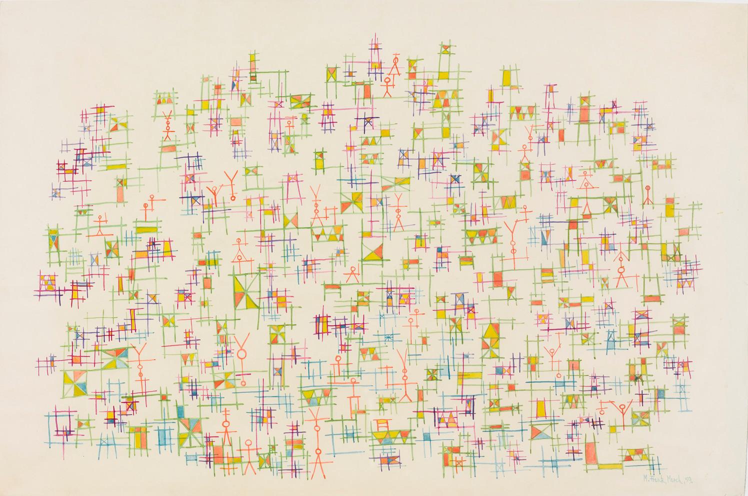 Untitled - stick figures