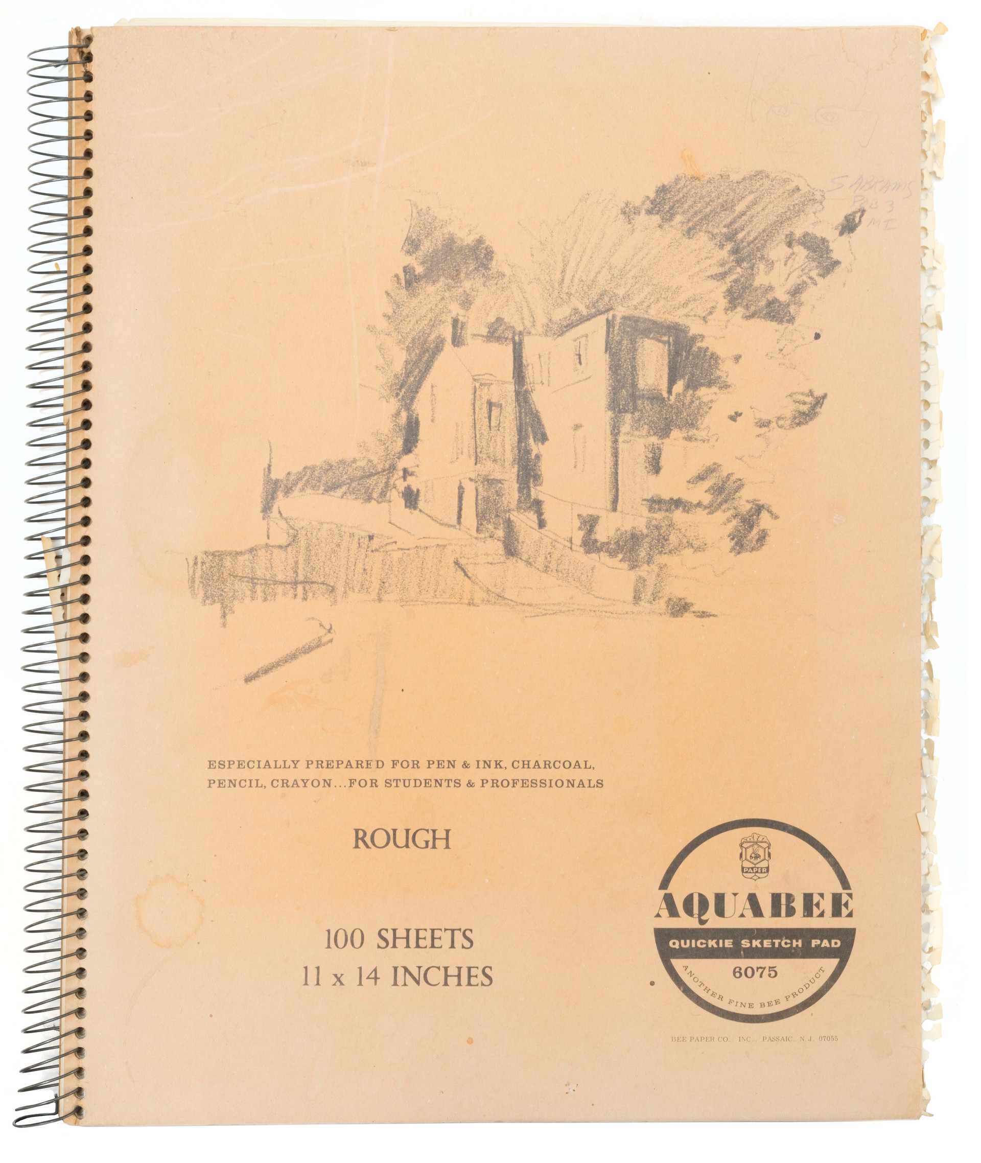 Sketch book 2 (cover)