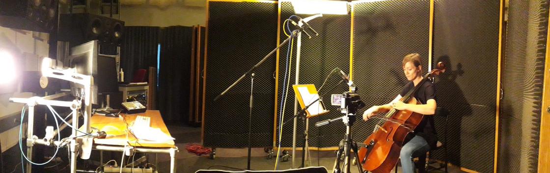 Recording for Ellen Fallowfield's cello mapp