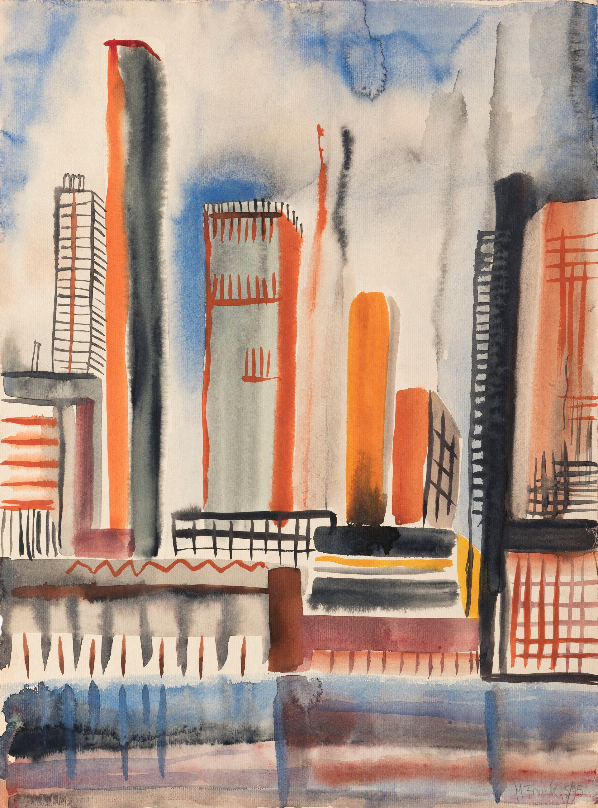 Untitled - cityscape with skyscrapers (2)