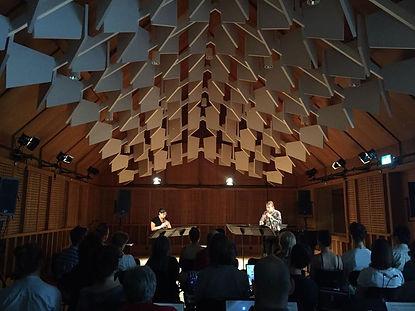 Omri Abram Composer, duo northeast, recorders, Omri Abram kaleidocope