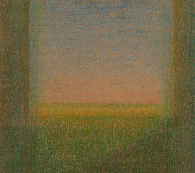Untitled (similar to Beyond Summer's Fields)