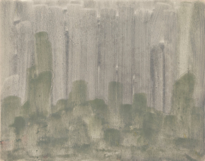 Untitled - green and gray