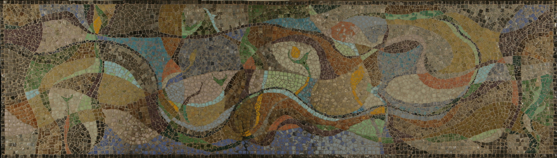 Be Gentle as the Dove and Wise as the Snake (Mosaic)