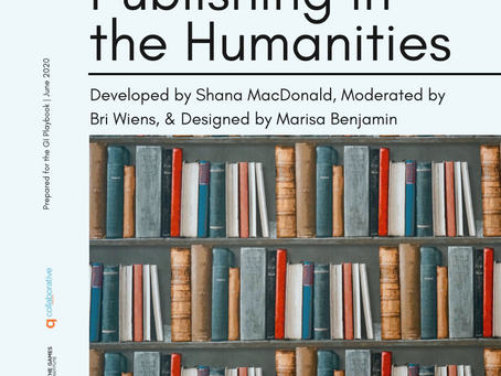 Toolkit for Publishing in the Humanities