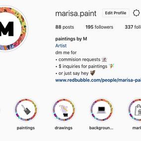 Designing an on-brand Instagram theme