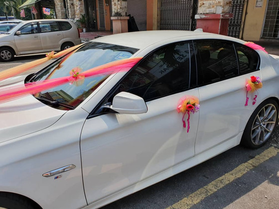 Royal Wedding Car Decoration On 01.09.2019.....Happy Car Decoration Client...Thanks For The Patronag