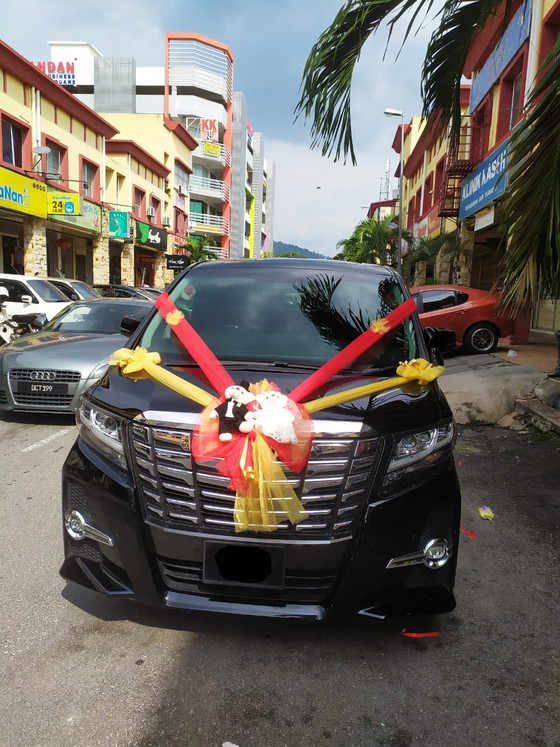 Royal Wedding Car Decoration On 03.11.2019.....Happy Client...Thanks For The Patronage Royal Wedding