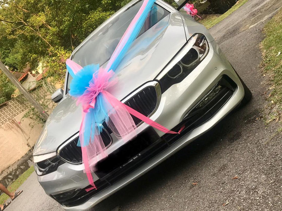 Beautiful Wedding Car Decoration On 05.01.2019.....Happy Car Decoration Client...Thanks For The Patr