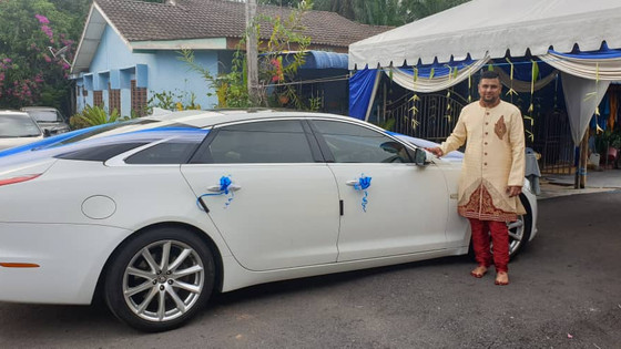 Lovely Couple Wedding Car Decoration On 07.06.2019.....Happy Car Decoration Client...Thanks For The