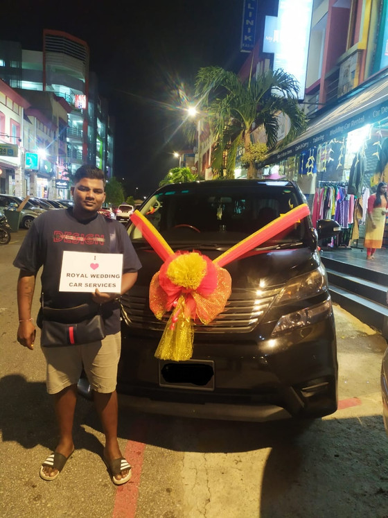 Royal Wedding Car Decoration On 10.12.2019.....Happy Client...Thanks For The Patronage Royal Wedding