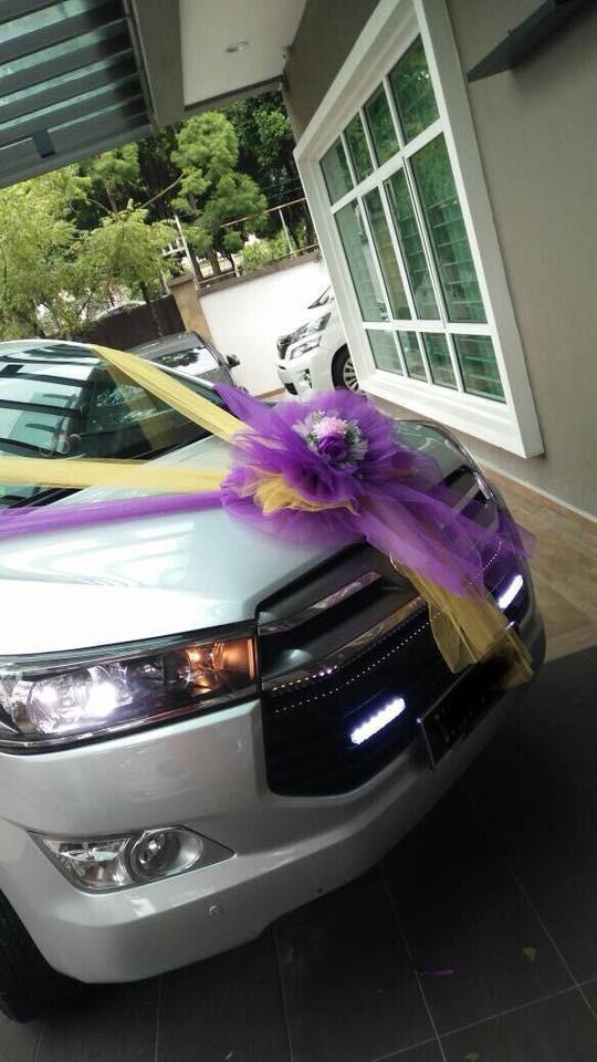 Wedding Car Decoration / Bridal Car Decoration