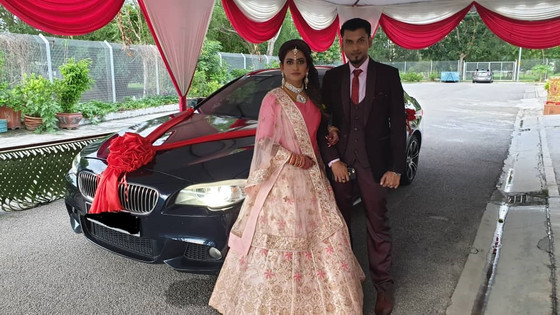 Lovely Couple Wedding Car Decoration On 15.06.2019.....Happy Car Decoration Client...Thanks For The