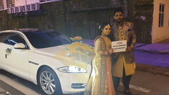 Lovely Couple Wedding Car Decoration On 30.03.2019.....Happy Car Decoration Client...Thanks For The