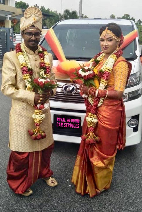 Lovely  Couple Wedding Car Decoration On 18.02.2019.....Happy Car Decoration Client...Thanks For The