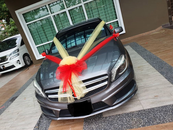 Cute Couple Wedding Car Decoration On 15.06.2019.....Happy Car Decoration Client...Thanks For The Pa