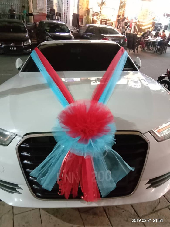 Wonder Full Car Decoration On 21.02.2019.....Happy Car Decoration Client...Thanks For The Patronage