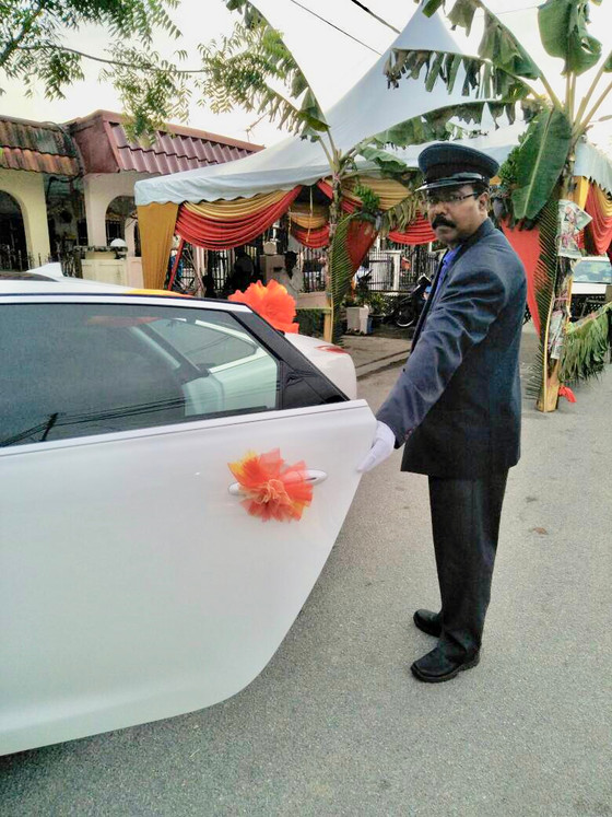 Luxury Wedding Car Service at Seminyeh, Selangor