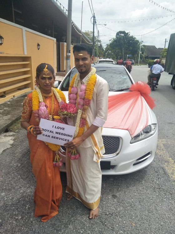 Lovely Couple Wedding Car Decoration On 14.06.2019.....Happy Car Decoration Client...Thanks For The