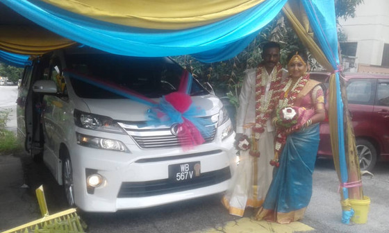 Lovely Couple Wedding Car Decoration On 03.03.2019.....Happy Car Decoration Client...Thanks For The