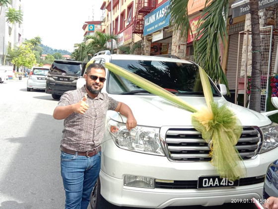 Lovely Wedding Car Decoration On 12.01.2019.....Happy Car Decoration Client...Thanks For The Patrona
