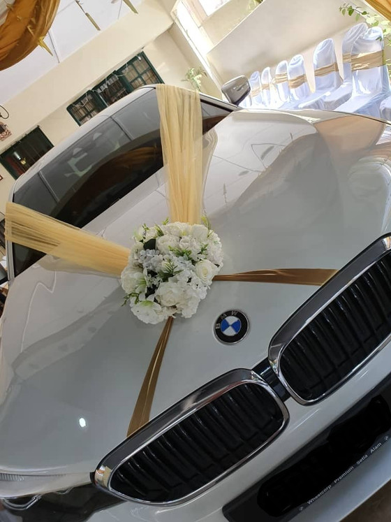 Royal Wedding Car Decoration On 06.12.2019.....Happy Client...Thanks For The Patronage Royal Wedding