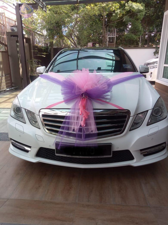 Beautiful Wedding Car Decoration On 04.01.2019.....For Our Beautiful Arabian Couple