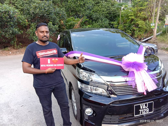Wonderful Wedding Car Decoration On 01.02.2019.....Happy Car Decoration Client...Thanks For The Patr