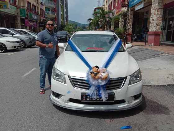 Royal Wedding Car Decoration On 01.06.2019.....Happy Car Decoration Client...Thanks For The Patronag