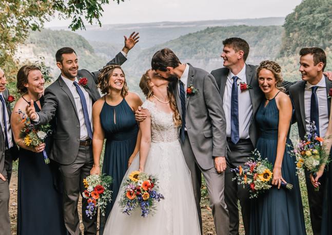 Garden Fresh Wedding Bouquets