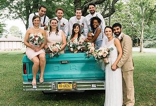 Boho Summer Wedding Dahlias Hydrangeas Lisianthus