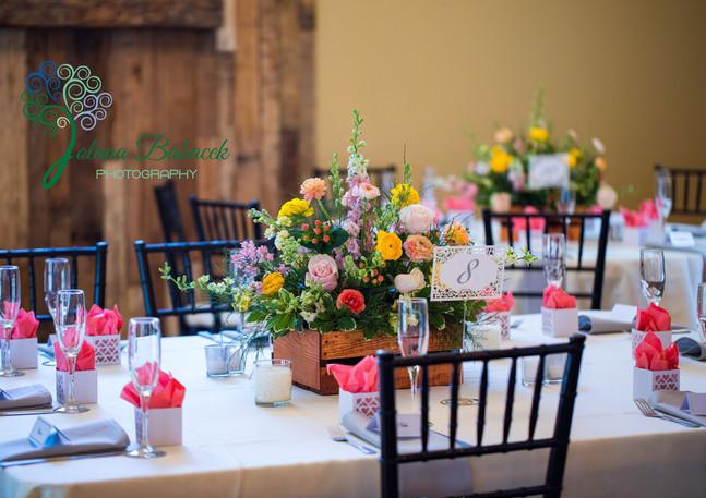 CORAL BLUSH GOLD RANUNCULUS GERBERA DAISY WEDDING FLOWERS
