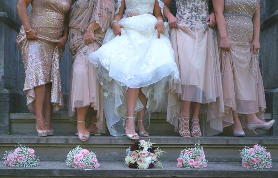 Blush Wedding Bouquets