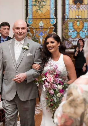 Great Gatsby Cascading Wedding Bouquet