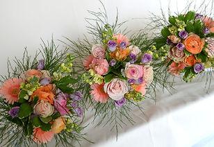 Coral Gold & Lavender Ranunculus Wedding