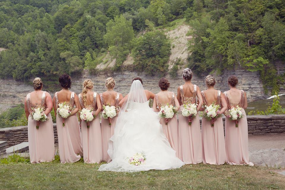 Rose Gold Wedding